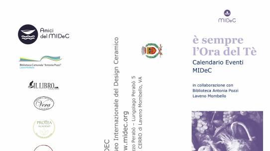 ORA DEL TE' AL MIDeC, MUSEO INTERNAZIONALE DEL DESIGN CERAMICO