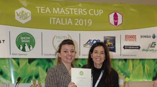 Erica Rossi is the champion of the fourth edition of Tea Masters Cup Italy